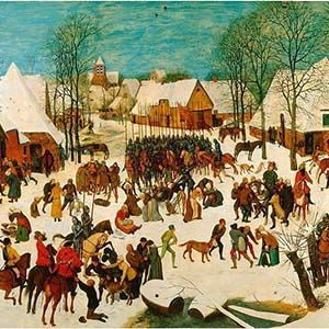 P. Bruegel l'ancien, Le massacre des innocents, 1565-67, Londres