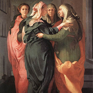 B. Viola, The greeting (d'après La visitation de Pontormo), 1995